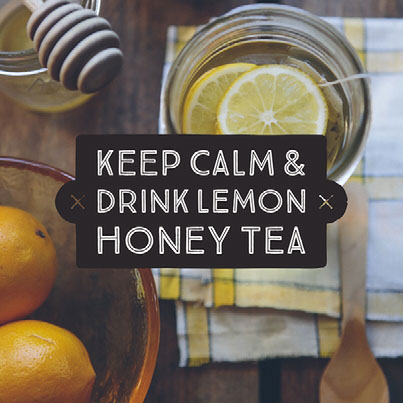 GG Example project: Keep Calm & Drink Lemon Honey Tea